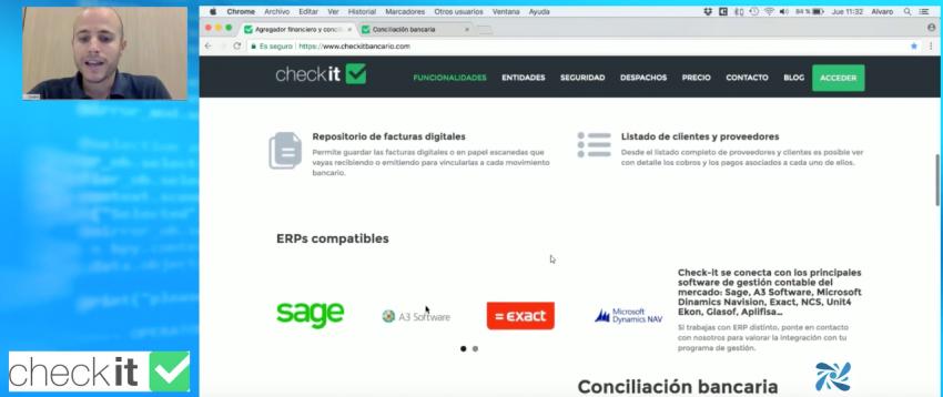Participamos en el primer cibermaratón tecnológico del Centro de Innovación de Despachos Profesionales para explicar cómo funciona Check-it.  No te pierdas nuestro vídeo   …